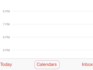Tap Calendars.
