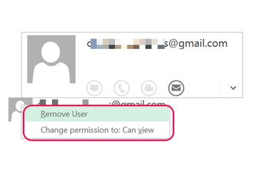 Change the person's permissions to unblock the worksheet.