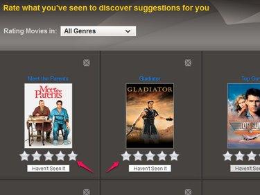 Bulk rating on the website.