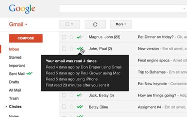 Mailtrack on Gmail