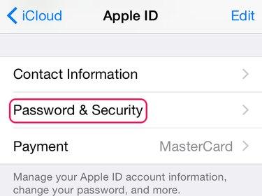 Open Password & Security