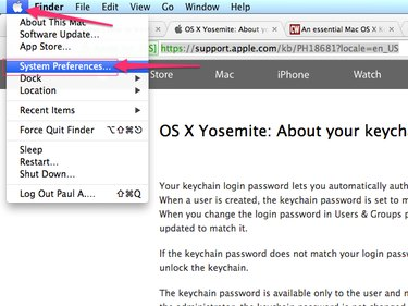 Apple menu (Apple)