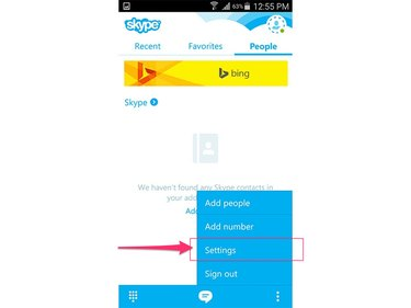 Skype (Android 5.0)