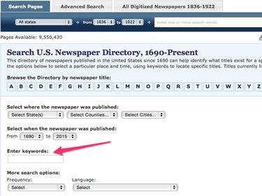 U.S. Newspaper Directory