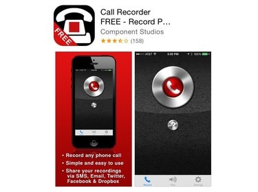 Call Recorder app in the App Store