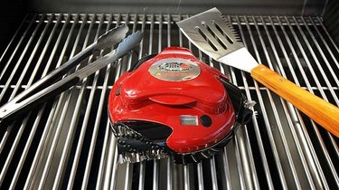 a grill-cleaning robot