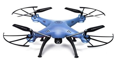 The Syma X5HW drone.