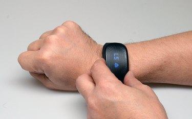 The GoBe 2 on the author's wrist