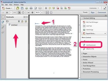 Bookmark Navigation Pane.