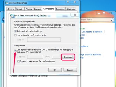 You can leave the Automatically Detect Settings box checked.