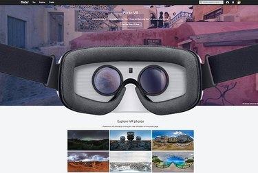 Flickr VR section