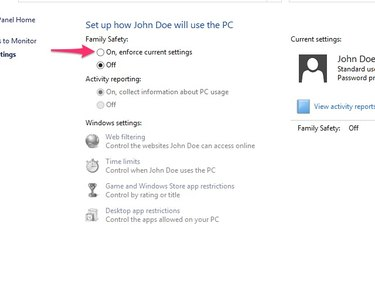 Family Safety Settings