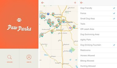 Screenshot of Paw Parks