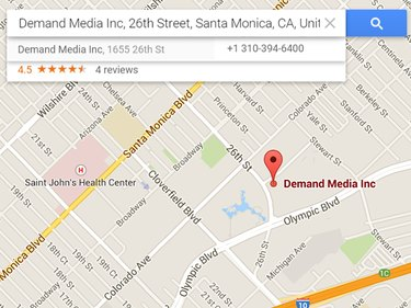 Demand Media Inc's location in Santa Monica, CA