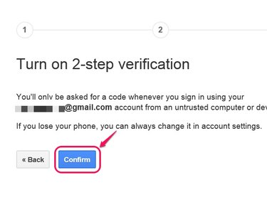 Your Google Two-Step Verification Account page has the option to change your mobile number.