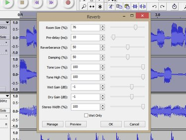 Using the Reverb effect