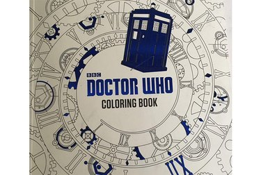 Cover of Doctor Who Coloring Book