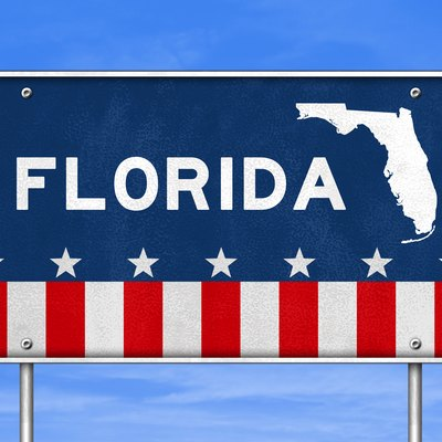 Florida - road sign