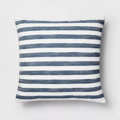 Threshold Woven Stripe Pillow