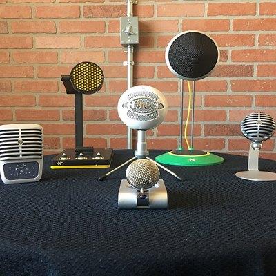 Desktop microphones