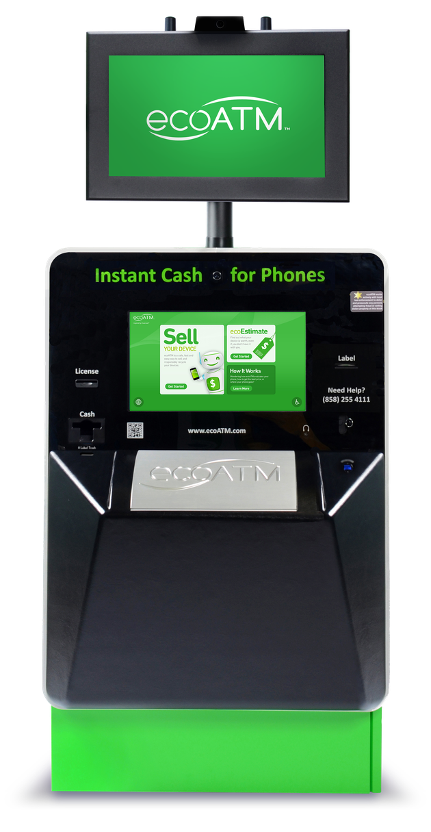 Get Cash Back with EcoATM