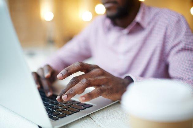 Designer typing