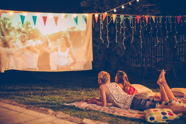 Romantic movie night