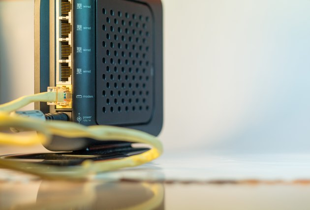 Wireless Modem back