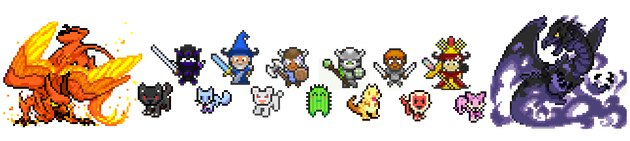 Avatars from Habitica