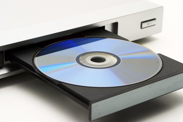 Disk drive in DVD player