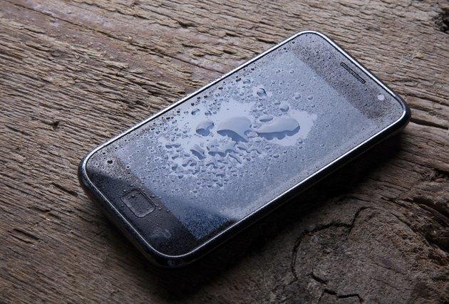 Wet smart Phone