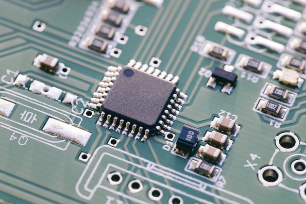Microcontroller - Technology Circuit Board