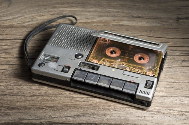 old Cassette Tape player