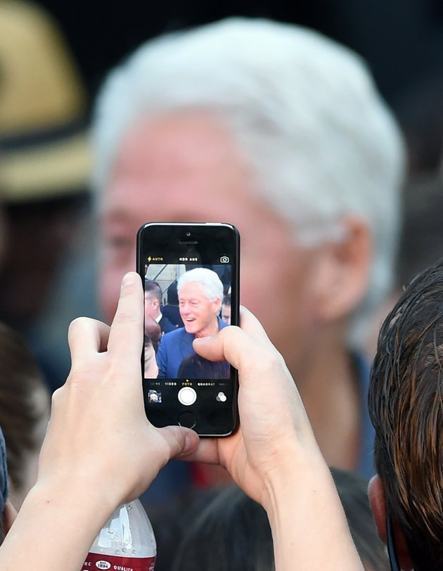 Bill Clinton Campaigns For Nevada Democrats Up For Re-Election