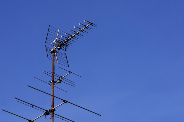 Antenna in sky