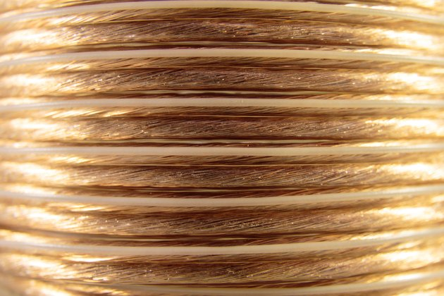 Coiled Speaker Wire