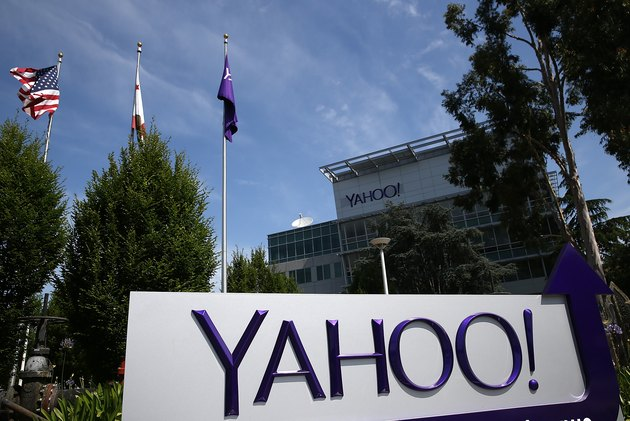 Yahoo's Headquarters In Sunnyvale, California