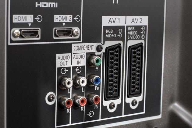 socket of audio video
