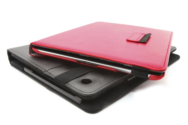 Closed Black tablet case