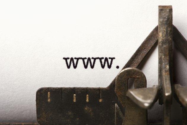 Typed prefix of URL