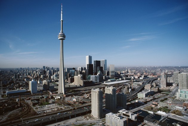 View of downtown, Toronto, Ontario, Canada