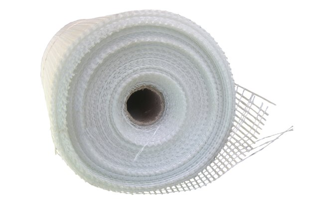 Fiberglass self-adhesive mesh
