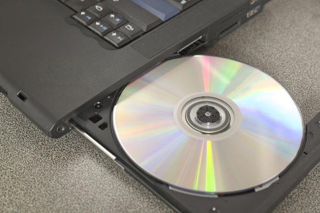 CD/DVD on tray