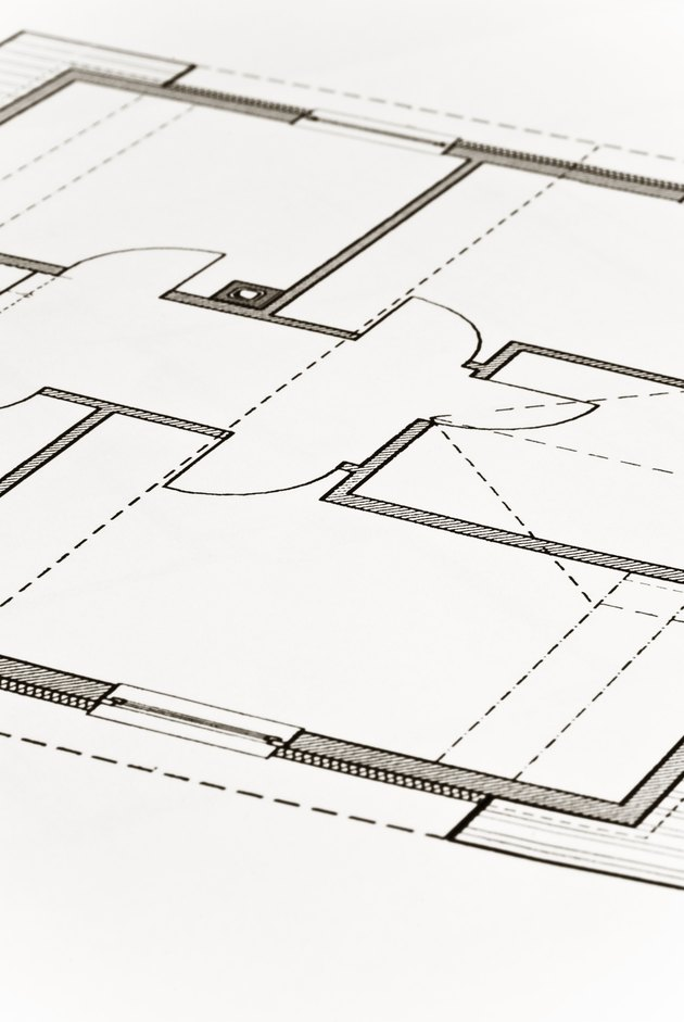 Apartment ground-plan