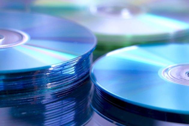 Blue cd stack