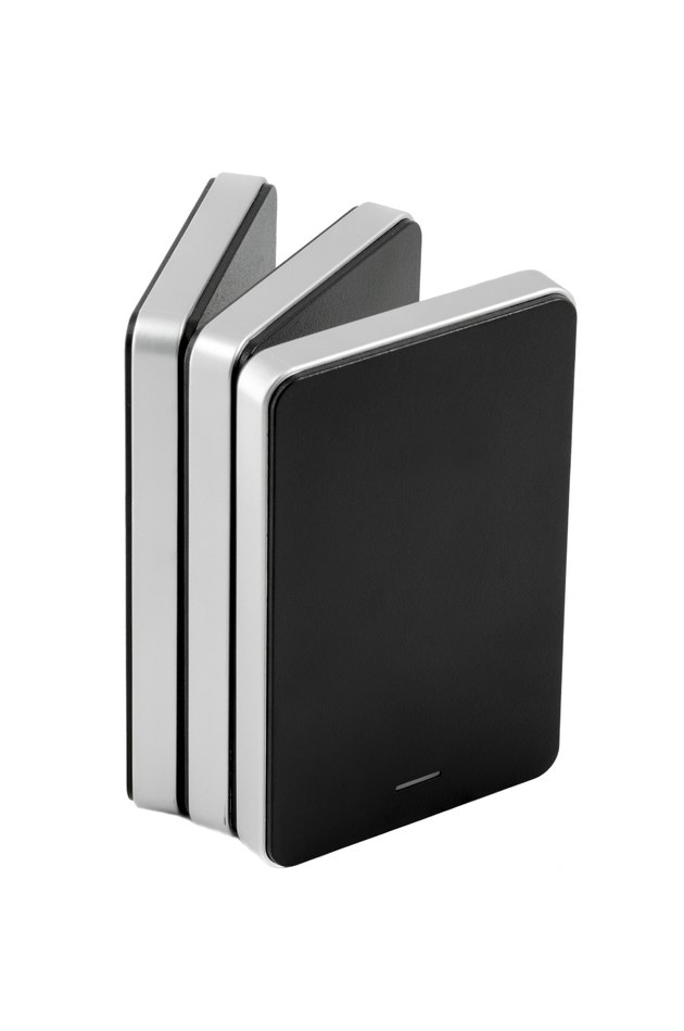External Hard Disk on isolated background