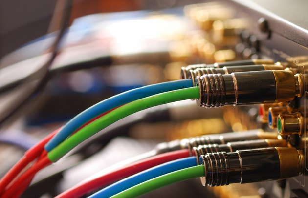 Home movie theater cables