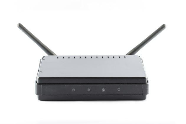 Black Access point router