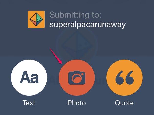 Choose a post type.