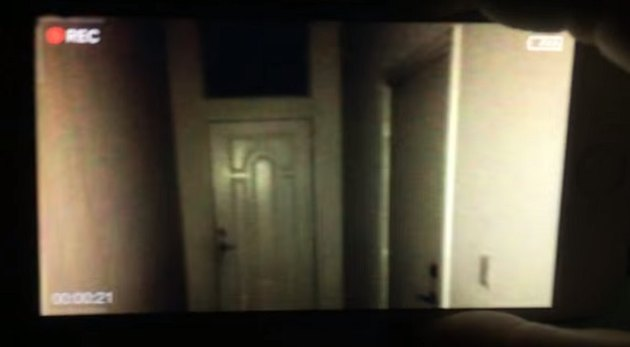 A screenshot of Night Terrors as seen through your camera's phone.